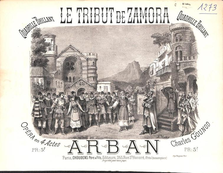 page-de-titre-du-quadrille-brillant-d-apres-le-tribut-de-zamora-de-gounod-arban