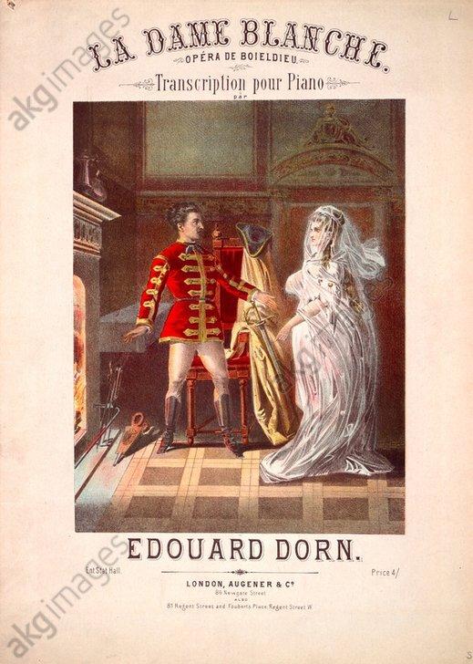 Boieldieu, Weiße Dame / Klavierauszug - Boieldieu / La Dame Blance / Piano Score -