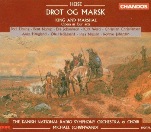 Peter Arnold Heise: Drot og marsk/The King and the Marshal (1878 ...